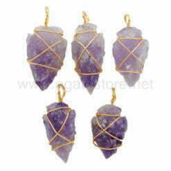 Wholesale Amethyst Arrowhead Pendant for Sale