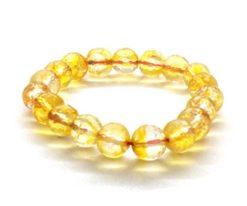 Wholesale Gold Calcite Faceted Bead Bracelet For Sale
