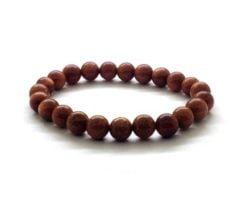 Wholesale Red Goldstone Bead Bracelet For Sale