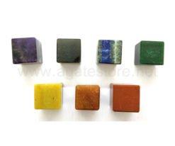 7 Chakra Cube Shape Set