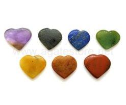 7 Chakra Heart Set