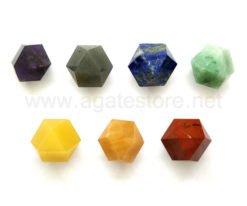 7 Chakra Hexagonal Shape Set
