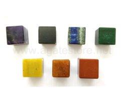 7 Chakra Square Shape Set