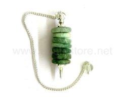 Green Aventurine Donut Pendulum
