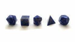 Lapis Lazuli 5pcs Geometry Set