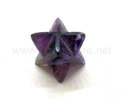 Natural Amethyst Crystal 8 Points Merkaba Star