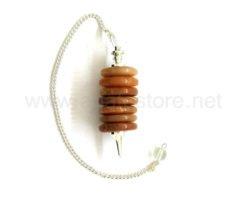 Red Aventurine Donut Pendulum