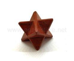 Red Jasper 8 Points Merkaba Stars