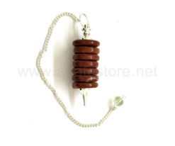 Red Jasper Donut Pendulum