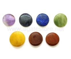 Seven Chakra Disc Shape Set