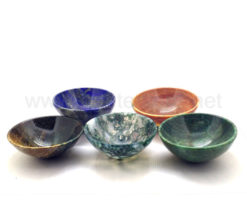Wholesale Assorted Gemstone 3 inch Bowls for Sale