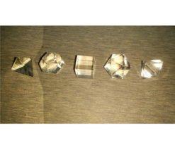Wholesale Crystal Quartz 5pcs Geometry Set