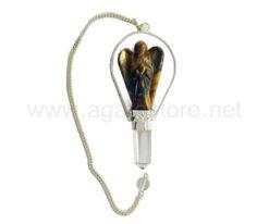 Wholesale Tiger Eye Angel Pendulum For Sale