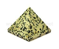 Dalmatian Jasper Pyramid