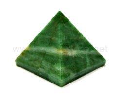 Green Mica Pyramid