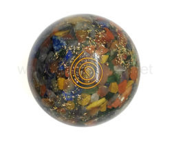 Wholesale 7 Chakra Mix Orgone Spheres for Sale