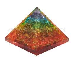 Wholesale 7 Chakra Onyx Orgone Pyramid for Sale