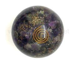 Wholesale Amethyst Orgone Spheres for Sale