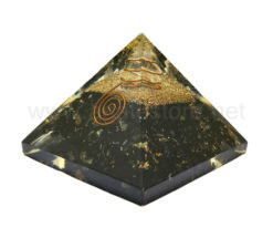 Wholesale Black Tourmaline Orgone Pyramid for Sale