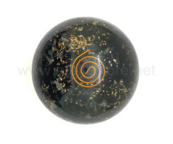 Wholesale Black Tourmaline Orgone Spheres for Sale