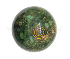 Wholesale Green Aventurine Orgone Spheres for Sale