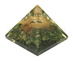 Wholesale Green Mica Orgone Pyramid for Sale