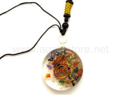 Wholesale Orgone 7 Chakra Disc Pendants for Sale
