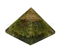 Wholesale Peridot Orgone Pyramid for Sale