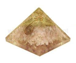 Wholesale Rose Quartz Orgone Pyramids for Sale