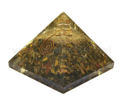 Wholesale Tiger Eye Orgone Pyramid for Sale