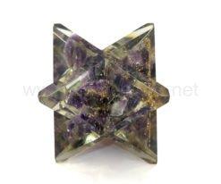 Wholesale Amethyst Orgone Merkaba Star for Sale