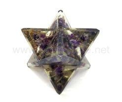 Wholesale Amethyst Orgone Merkaba Stars for Sale
