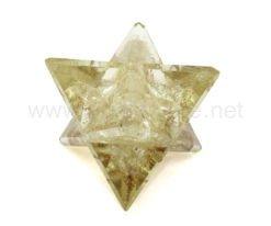 Wholesale Clear Crystal Quartz Orgone Merkaba Star for Sale