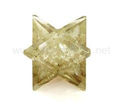 Wholesale Clear Crystal Quartz Orgone Merkaba Stars for Sale