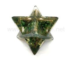 Wholesale Green Aventurine Orgone Merkaba Stars for Sale