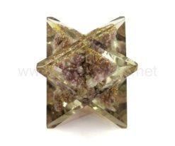 Wholesale Lepidolite Orgone Merkaba Star for Sale