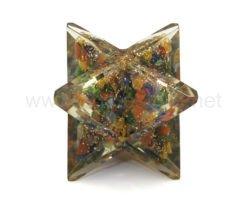 Wholesale Mix 7 Chakra Orgone Merkaba Star for Sale