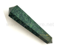 Wholesale Fancy Green Agate Big Vogel Style Wands for Sale