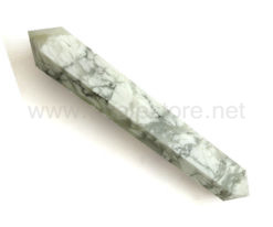 Wholesale Howlite Big Vogel Style Wand for Sale